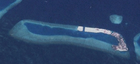 Thilafushi 2001. Source: Google Earth