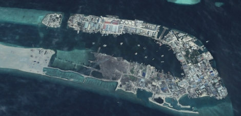 Thilafushi 2013, Detail. Source: Google Earth