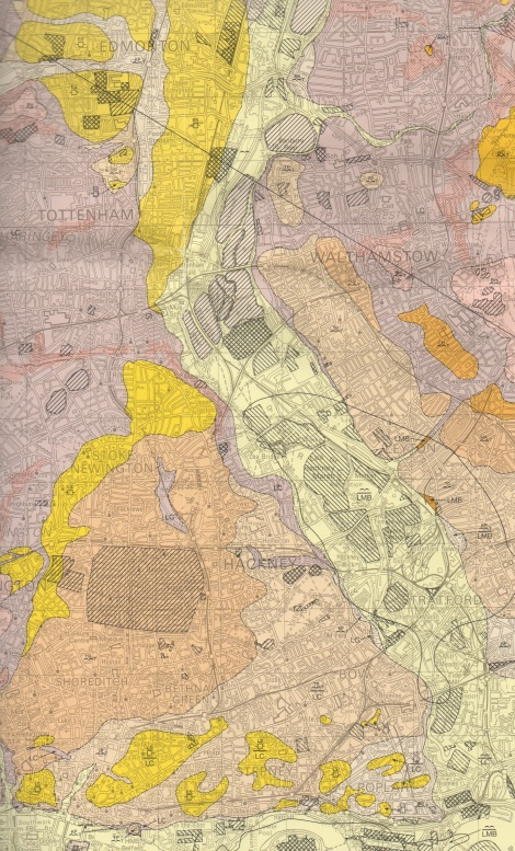 Detail, !:50 000 British Geological Survey Sheet 256