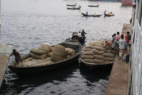 Ferry cargo, Dhaka
