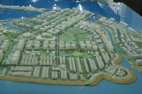 Tourism Island, Hulhumale Phase 2 model, HDC
