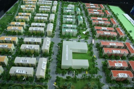 Hulhumale Phase 1 housing model, HDC offices