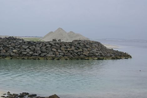 Rock revetment, Hulhumale Phase 2