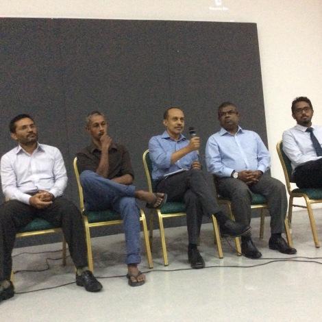 Adnan Aly, Ishan Saeed, Marouf Jameel, Abdulla Naseer, Hussein Ziyath