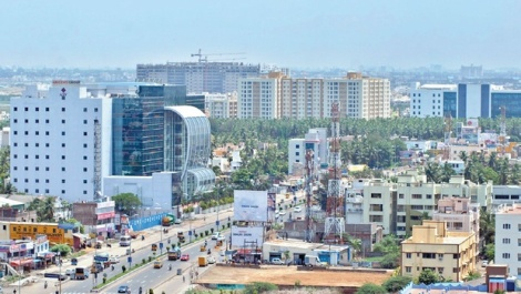 Rajiv Gandhi Salai, Chennai. Source: http://www.newindianexpress.com/cities/chennai/2013/aug/12/Residential-boom-in-IT-corridor-505946.html